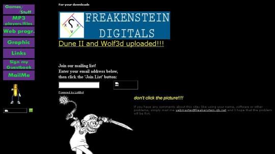 1999-freakenstein