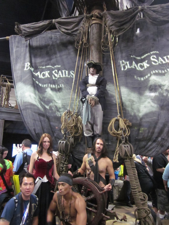 Comic-Con Black Sails